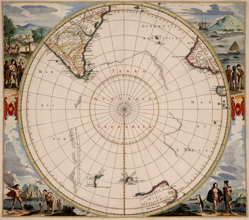 Hendrik Hondius Polus Antarcticus